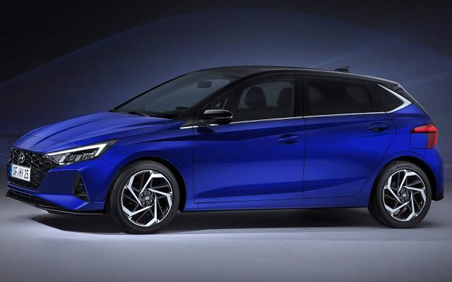 Novo Hyundai i20 2021: revelada foto oficial do interior