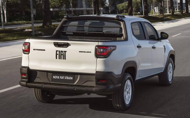 Nova Fiat Strada 2021 já pode ser alugada na Unidas
