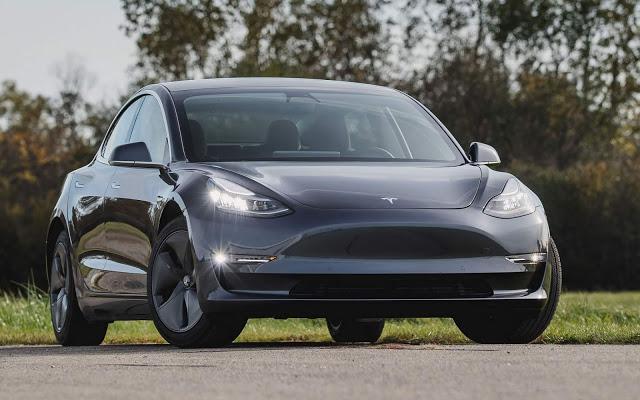 Tesla lidera ranking de vendas de carros elétricos no mundo