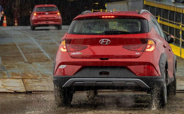 Hyundai inicia exportação do novo HB20 para a Colômbia