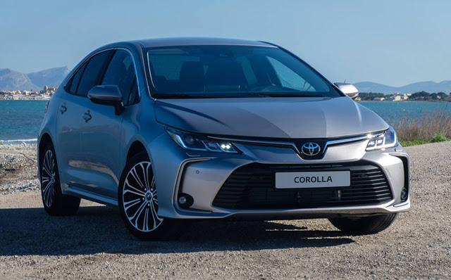 Toyota Corolla 2020 terá nova central multimídia e o Safety Sense com ACC  - vídeos oficiais divulgados